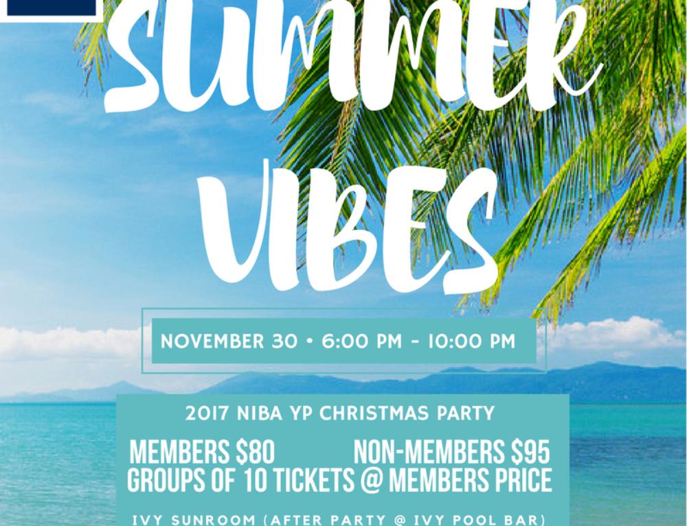 NIBA YPs celebrate summer